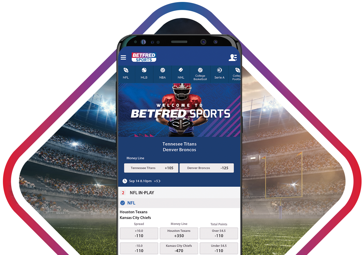 Betfred Sports Android